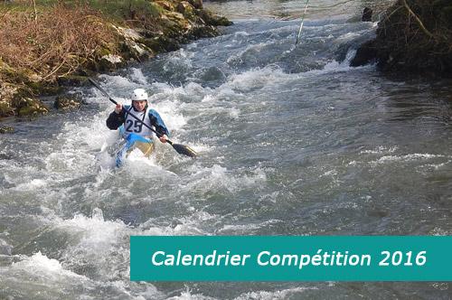 Calendrier Compétition 2016
